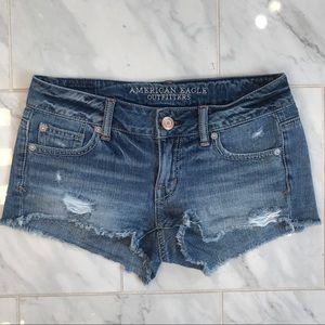 American Eagle Jean Shorts. Sz 0